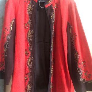 NWOT Chico's embellished blazer Sz 3, orig Pd $239